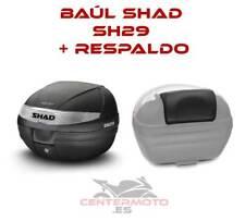 Baúl SHAD SH29 + Respaldo | D0B29100 | Baul | Baulete | Maleta | 29 Litros