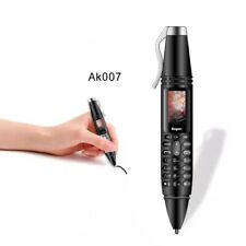 "Unlocked GSM Pen Shaped Cellphone AK007 0.96""Screen Bluetooth Dialer Magic Voice"
