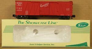 S-Helper 00068 CB&Q (Colorado and Southern) Boxcar #13501 S-Gauge/Scale NIB