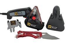 WORK SHARP Electric KNIFE SHARPENER, WSKTS Tool and Knife SHARPENING STONE