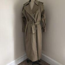 CLASSIC BURBERRYS  TRENCH COAT WOMEN'S Wool Lining 12XXL