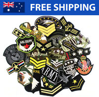Military / Army Embroidered Patches for Embroidery Cloth Patch Badge Iron Sew On