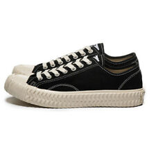 Excelsior Unisex  Canvas Street Fashion Sneakers Bolt Lo Vulcanized Black White