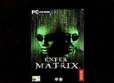 ENTER THE MATRIX. GREAT ACTION/ADVENTURE GAME FOR PC. ORIGINAL 4 DISC VERSION!!