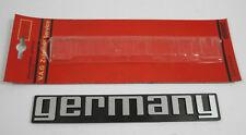 "original VW V.A.G Schriftzug ""GERMANY"" NEU Golf 1 2 GTI 16V Pirelli MK1 MK2 Polo"