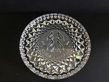 WATERFORD CRYSTAL 1987 CHRISTMAS PLATE TWELVE DAYS COLLECTION 4 CALLING BIRDS