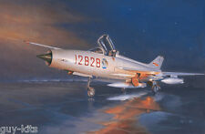Avion de chasse Chinois CHENGDU J-7G  - KIT TRUMPETER 1/48 n° 2861