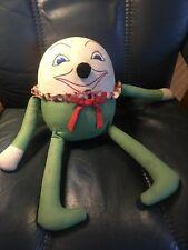 All Original Large Humpty Dumpty Cotton Doll 15� Antique