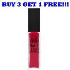 Maybelline Lipgloss Vivid Matte Liquid 8ml Rebel Red 35