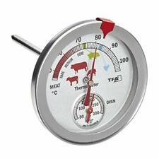TFA Dostmann 14.1027 Thermomètre analogique en acier inoxydable Argent