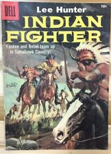 LEE HUNTER, INDIAN FIGHTER (1957) Dell Four Color Comics #779 VG+