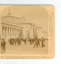 B521 U&U 49 The Grand Palace Of Fine Arts 1900 Expo Paris France D