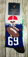 MENS AMERICAN EAGLE FOOTBALL PLAYER CREW SOCKS ONE SIZE