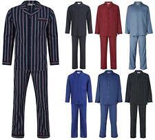 Walker Reid Mens Pyjamas 100% Cotton Woven Tailored Traditional Pyjama Set PJs