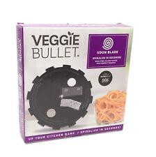 Veggie Bullet Udon Blade 5mm Spiralize Makers of NutriBullet & MagicBullet