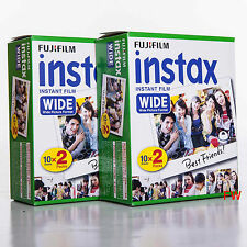 Fuji Instax Large Film Lot de 4 10= 40 Image pour Appareil Photo 100 200 210 300