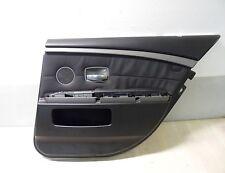 PANNELLO PORTA RIVESTIMENTO PORTIERA NERO POSTERIORE DX BMW E65 7er KURZ