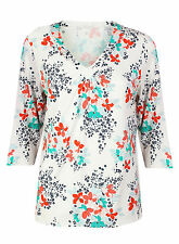 Blouse Polyester Floral BHS Tops & Shirts for Women