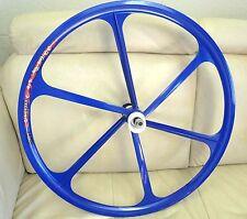 Teny Mag Alloy Fixed Gear/ Single Speed700c Fixie Front & Rear Wheels setBlue