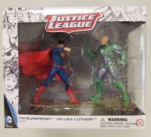 New Schleich DC Comics Justice League #14 Superman vs Lex Luthor Figurines
