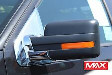 MBFD104 - 2009-2014 Ford F-150 Pick Up Chrome Side Mirror Post Base Cover