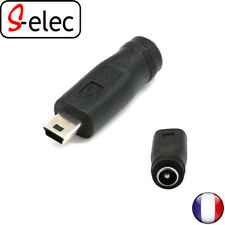 5026# Power Charger Adapter DC Female to Male Mini USB