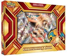 Pokemon Charizard EX Box Fire Blast TCG 2016 Booster Pack Collection Code Card