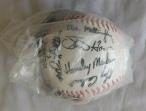 1991 New York Yankees Signed Facsimile Baseball Sealed