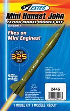 Mini Honest John Flying Model Rocket Kit flies up to 325 feet high by Estes 2446