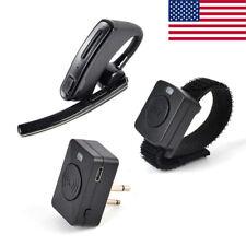 Bluetooth Earpiece Headset With Wireless Finger PTT For Motorola Walkie Talkies