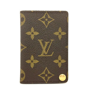 Louis Vuitton Monogram Porte Billets Cartes Credit Pression Card Case /90625