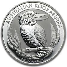 2012 Australia 1 oz Silver Kookaburra BU - SKU #62662