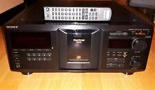 Sony CDP-CX455 -High-End-  400fach- CD-Wechsler mit Original Fernbedienung.