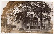 Trafalgar House Park Downton Nelson RP pc used 1905 Salisbury Duplex postmark