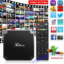 X96MINI Android 9.0 Quad Core Smart TV BOX WIFI Media Player 4K Network Streamer