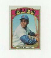 1972 Topps Billy Williams #439 Baseball Card - Chicago Cubs HOF