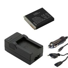 Akku + Ladegerät für Canon Digital IXUS 100 IS, 110 IS, 120 IS, 30, 40, 50 NB-4L
