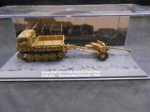 Altaya - 1:72e - Pour diorama - chenillette avec Pak 40 canon anti-char