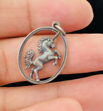 Gorgeous James Avery Sterling Silver UNICORN Charm Pendant Retired