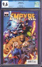 Empyre #1 (Marvel Comics, 2020) CGC 9.6 Asrar Variant Cover