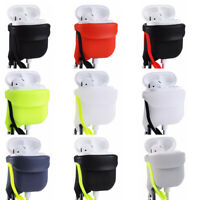 IKSNAIL For Apple Airpods 1 2 Case Cover Air Pods 2 Cases Silicone Protector Box