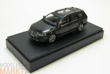 SCHUCO Sammlermodell VW Passat Glasdach dunkel grau Modell Maßstab 1:43 - OVP