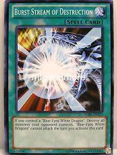 Yu-Gi-Oh - 1x Burst Stream of Destruction - SDBE - Saga of Blue Eyes White Drago