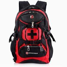 Swiss Gear Men's Laptop Travel ScanSmart School Backpack M215R Red Cases