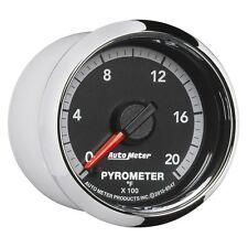 Auto Meter 8547 Gauge Pyro EGT 2 1/16, 2000 Stepper Motor, Ram Gen 4 Fact. Match