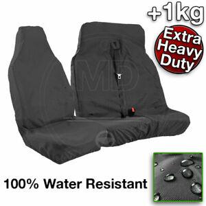 Seat Covers HEAVY DUTY 1kg 2+1 Custom Van VW CRAFTER TRANSPORTER 100% Waterproof