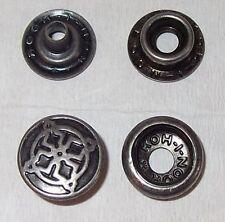 10 Stück Druckknöpfe mit Werkzeug Ringfeder für Hammer od. Zange altsilber 15 mm