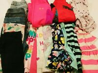 Girls Size 4T Clothes Lot ~17 Pcs.~ Fall / Winter ~ Carters, U.A., Tommy H., Ect