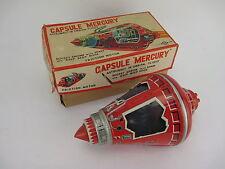 "Vintage CAPSULE ""MERCURY"" Friction Powered Toy by SH Japan in Original Box"