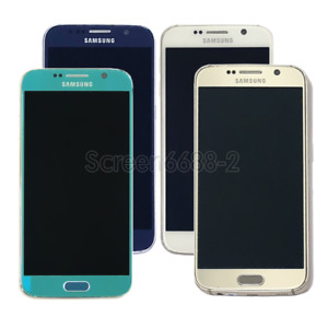 For Samsung Galaxy S6 G920A G920W8 32GB LTE Unlocked Cell Phone Mobile Android 6